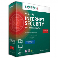 Антивирус Kaspersky Internet Security 2 ПК/1 год