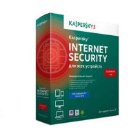 Антивирус Kaspersky Internet Security 3 ПК/1 год