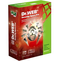 Антивирус Dr.Web Security Space Pro 2 ПК/1 год